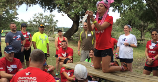 Team Red White & Blue Trail Running Camp