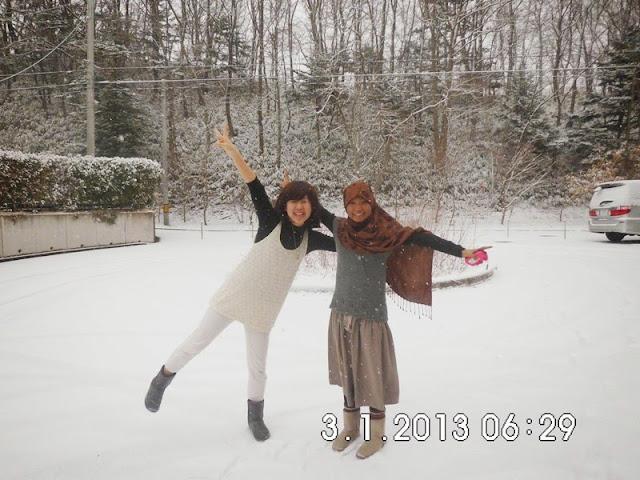 Lokasi salju di Jepang