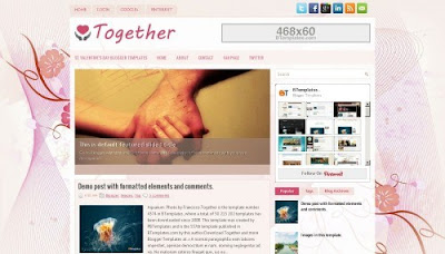 Together Blogger Templates