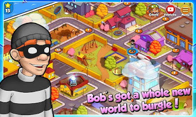 Download game android mod Robbery Bob 2: Double Trouble apk