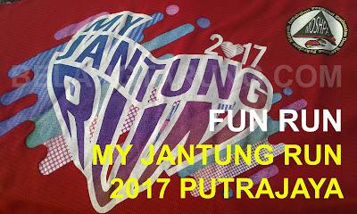 My Jantung Run 2017 Putrajaya