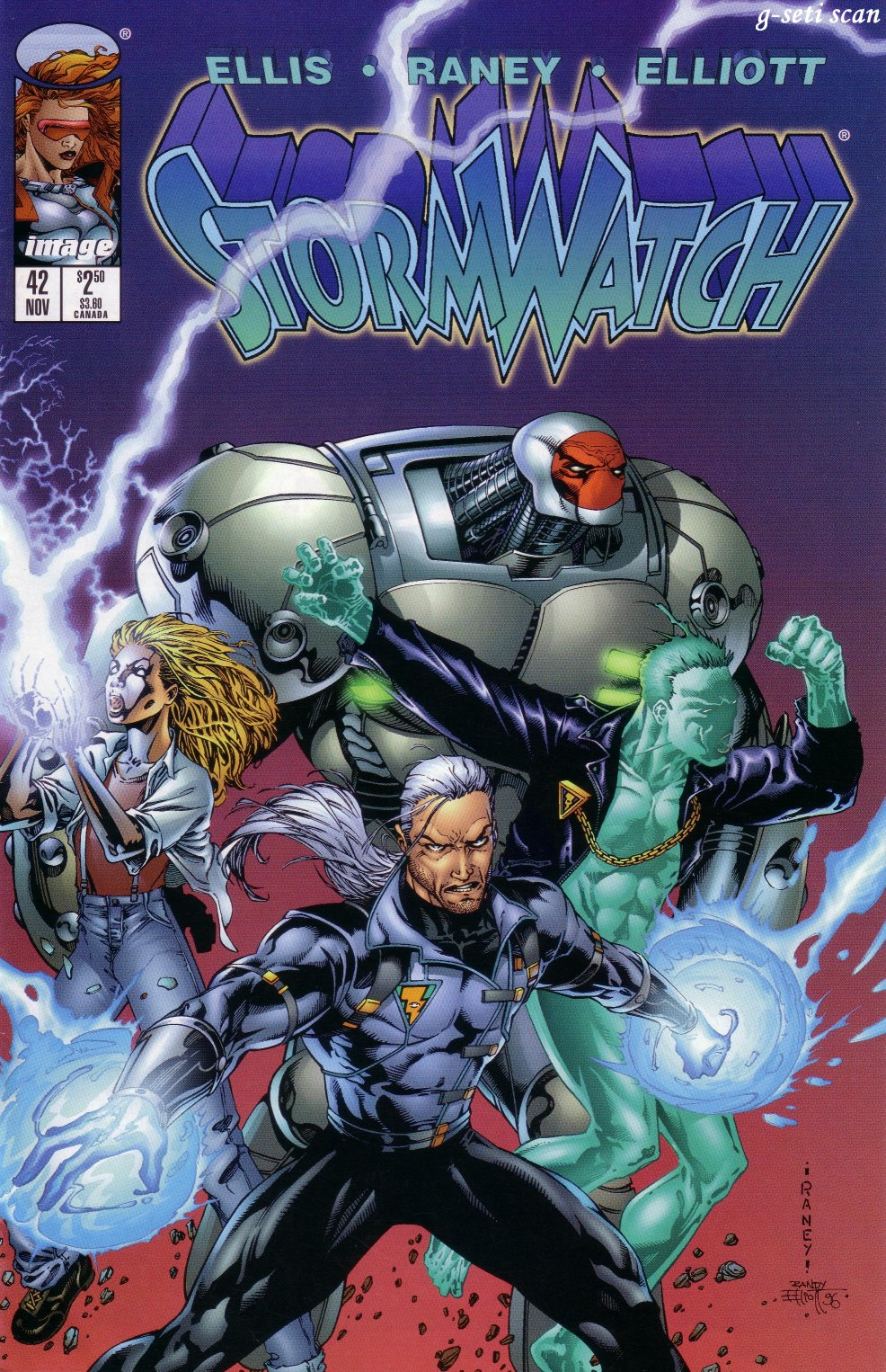 Stormwatch (1993) issue 42 - Page 1