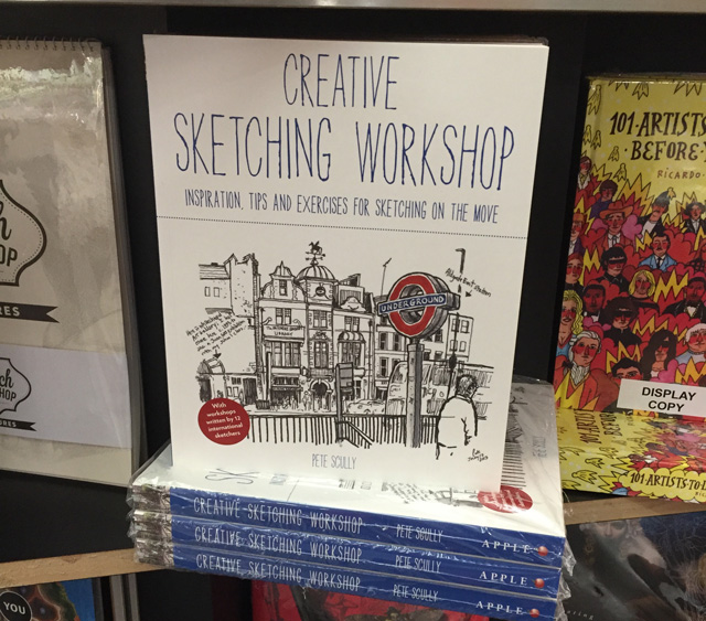 New Book Creative Sketching Workshop
