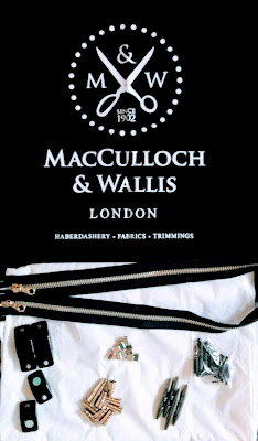 Creates Sew Slow: MacCulloch & Wallis