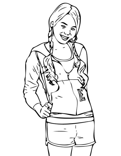 high school printable coloring pages - photo#29