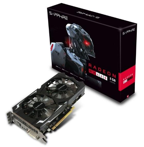 Sapphire RX 460 2GB OC