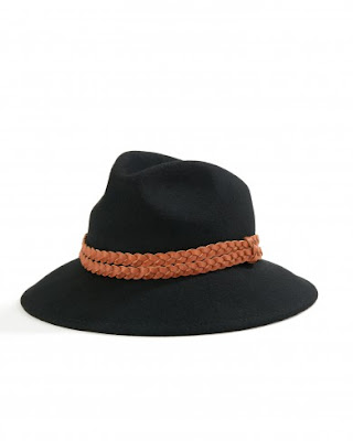 Atterley Road Yerse Black Tricot Hat