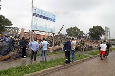 Un nuevo derrumbe que se suma a la gestión de Macri, Larreta y Cambiemos:  se desplomó una escuela en la Ciudad Autónoma de Buenos Aires causando seis heridos