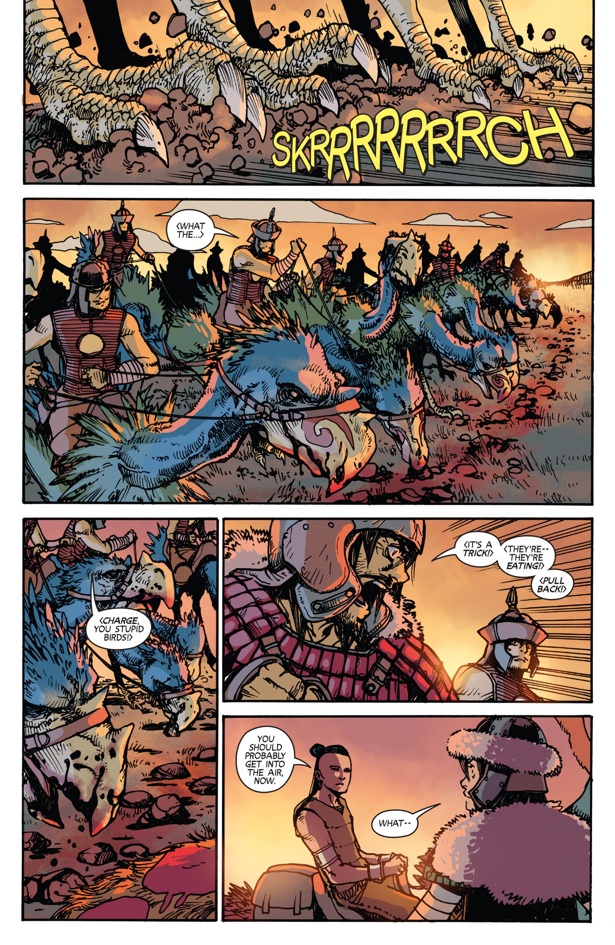 Read online Turok: Dinosaur Hunter (2014) comic -  Issue # _TPB 2 - 80