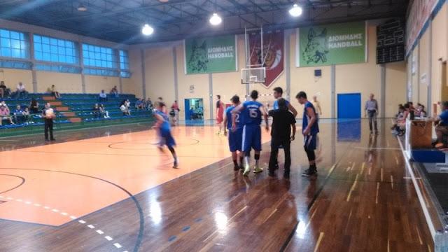 Πρωτάθλημα Εφήβων Μπάσκετ: Ατρέας ΓΣ - Οίαξ Ναυπλίου ΑΟ 46-72