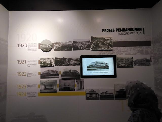 Struktur Gedung Sate Bandung