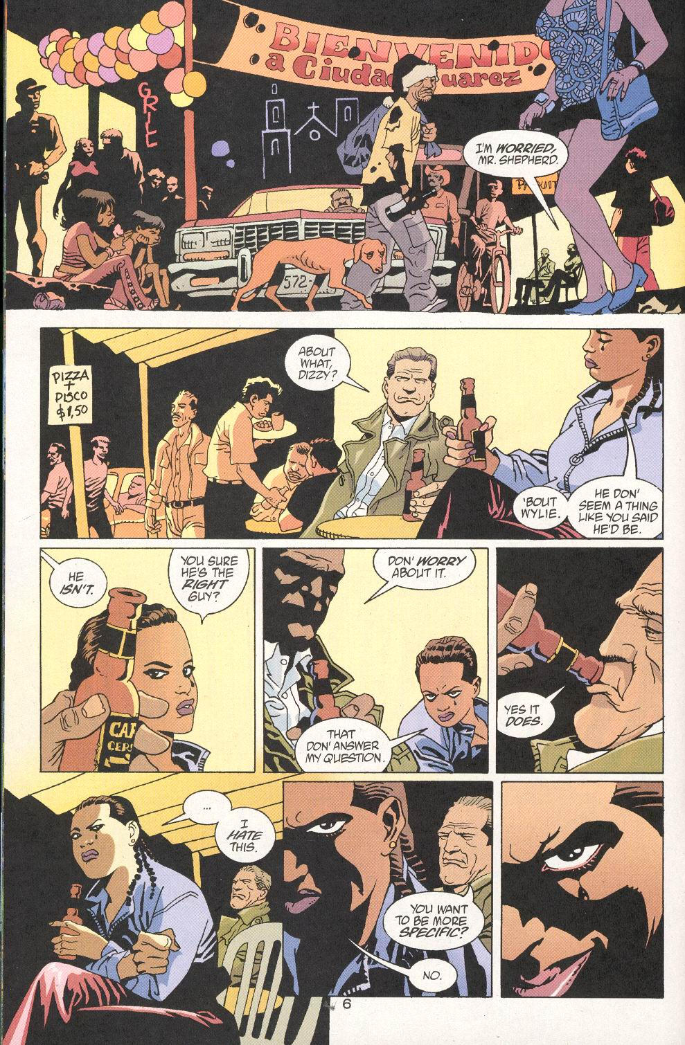 Read online 100 Bullets comic -  Issue #30 - 8