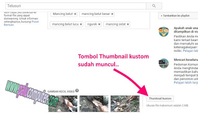menambahkan thumbnail youtube