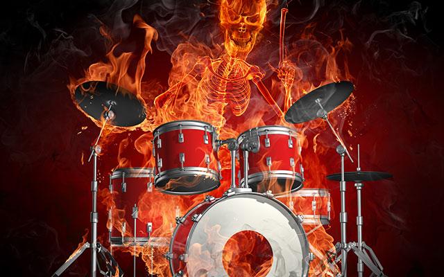 flames_drums_fire_skeleton_dark_wallpaper