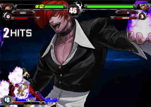 King of the fighters wing ex.