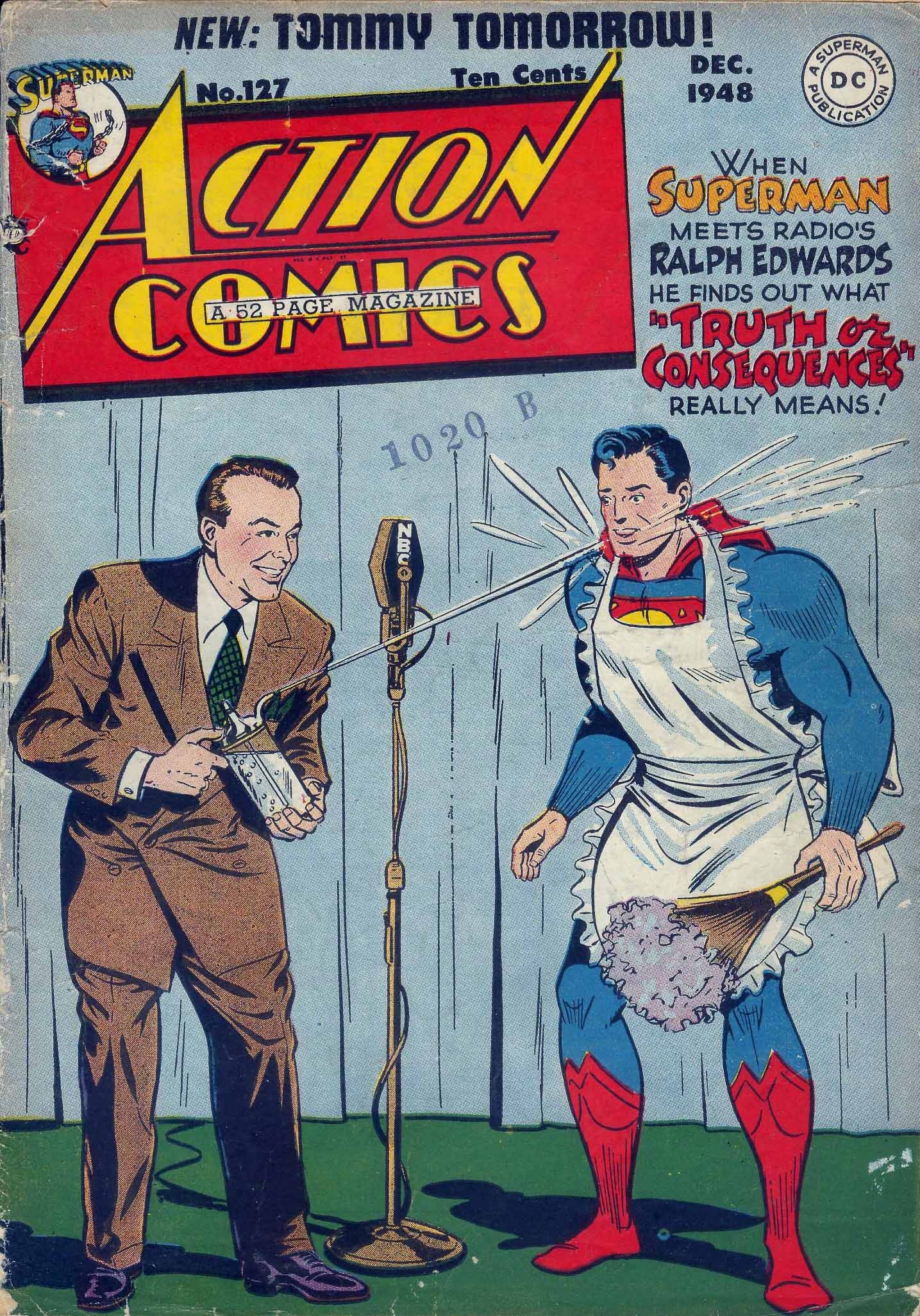 Read online Action Comics (1938) comic -  Issue #127 - 1