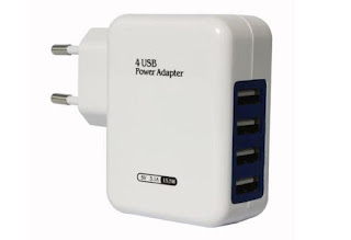 DMG 4 Port USB Wall Charger