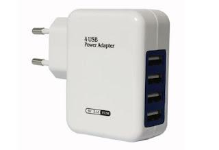 DMG 4 Port USB Wall Charger