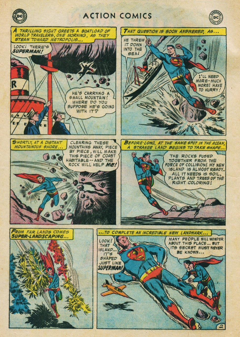 Read online Action Comics (1938) comic -  Issue #224 - 4