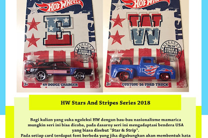 Hot Wheels 50th Anniversary Stars And Stripes Series 2018