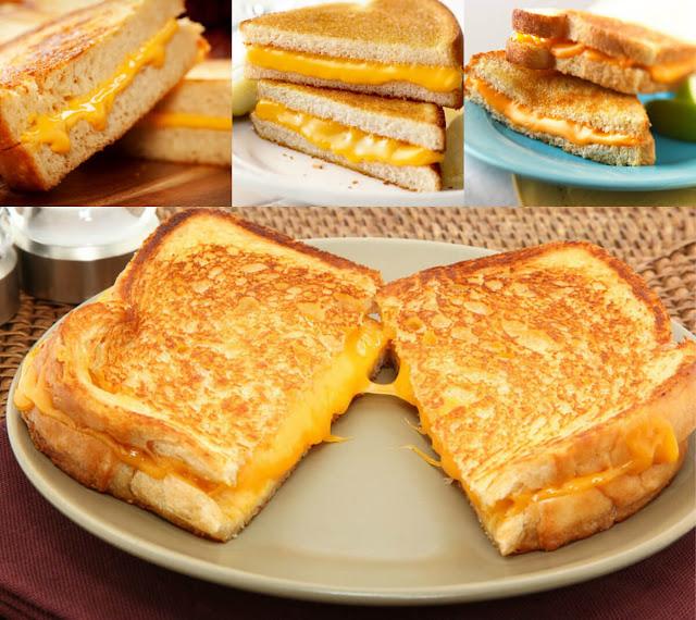 أحلى وأسهل طريقة لعمل التوست بالجبنة في المنزل!