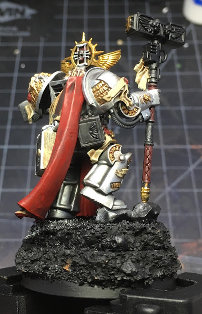 Grey Knights Grand Master Voldus WIP right side