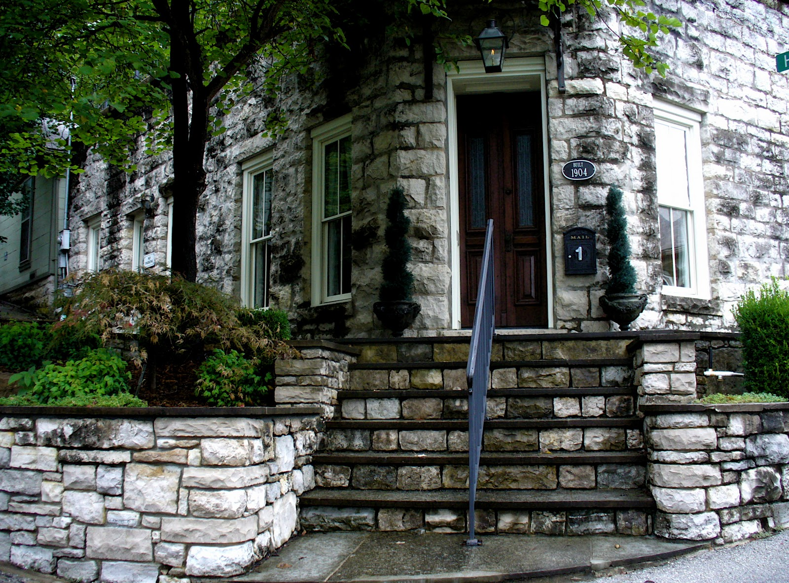 Stone Steps In Eureka Springs Ark. & Alt. Build Blog: Stone Steps In Eureka Springs Ark.