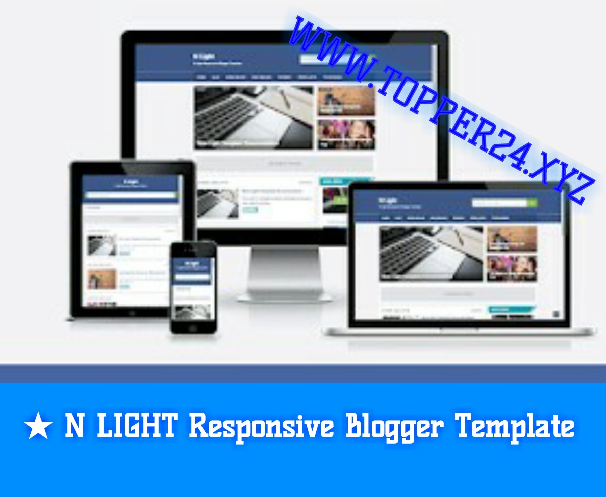[No Footer Credit] N Light Blogger Template