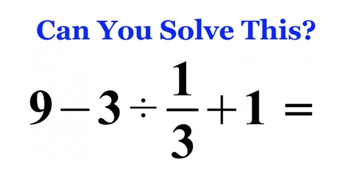 Most People Can\'t Solve This Basic Math Equation, Can You?