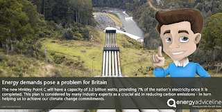 Energy demands pose a problem for Britain