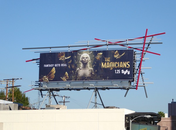 Magicians season 2 Syfy billboard