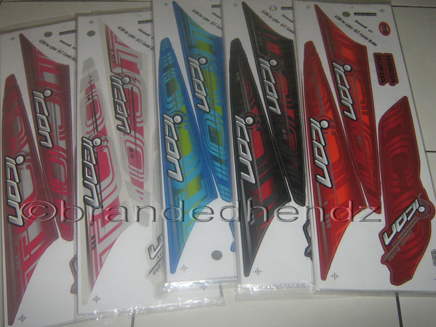 Striping Stiker Motor Beat