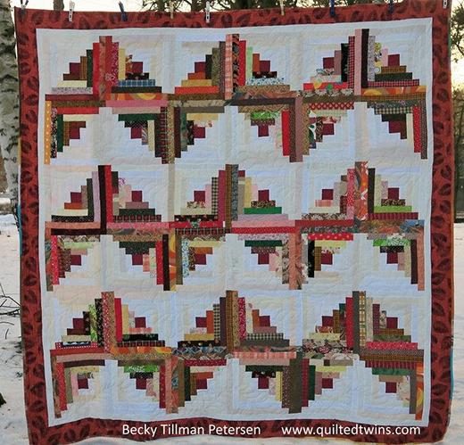 Autumn ZigZag Quilt Free Pattern