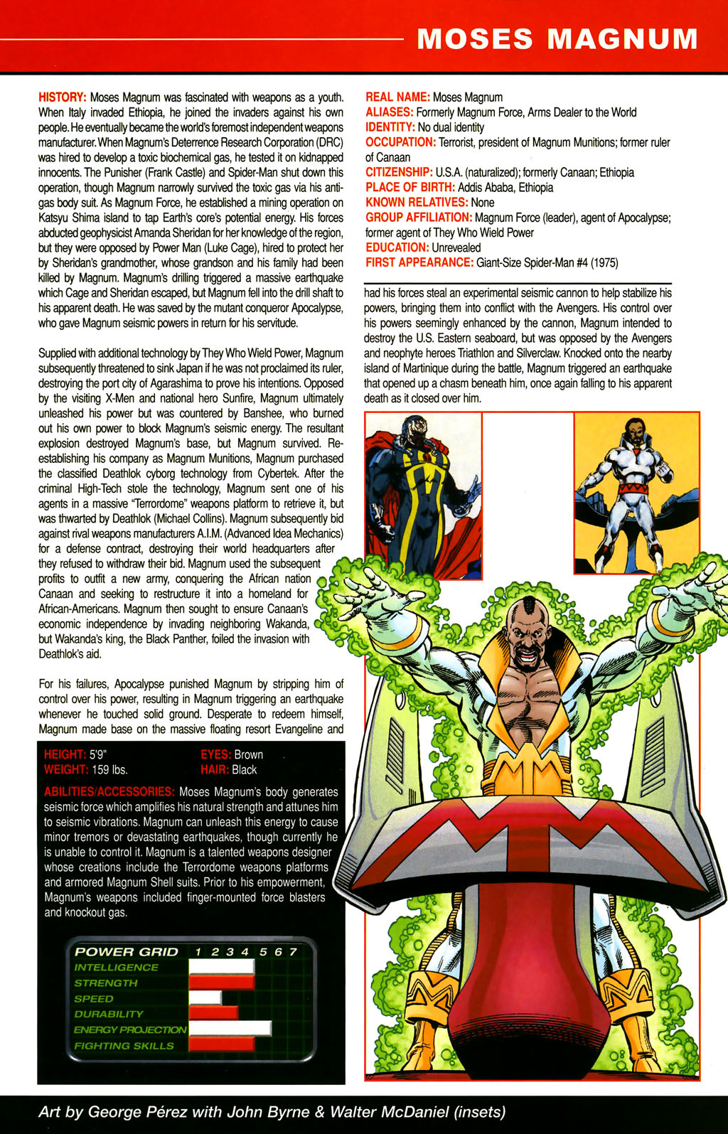 Read online All-New Official Handbook of the Marvel Universe A to Z comic -  Issue #6 - 59