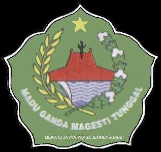 Lambang Kabupaten Pamekasan Madu Ganda Magesti Tunggal