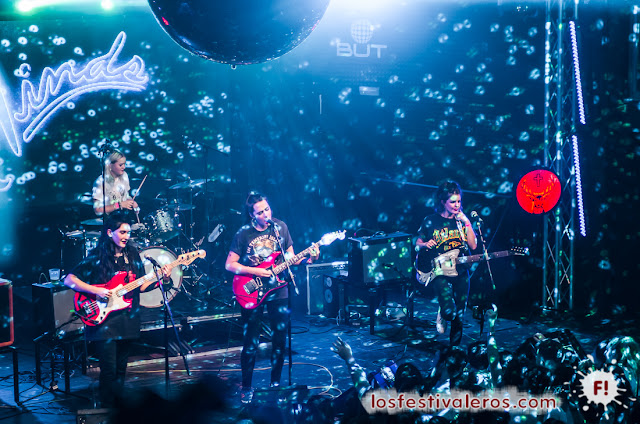 BBK, Live, 2016, Festival, Bilbao, Concierto, Música, Hinds