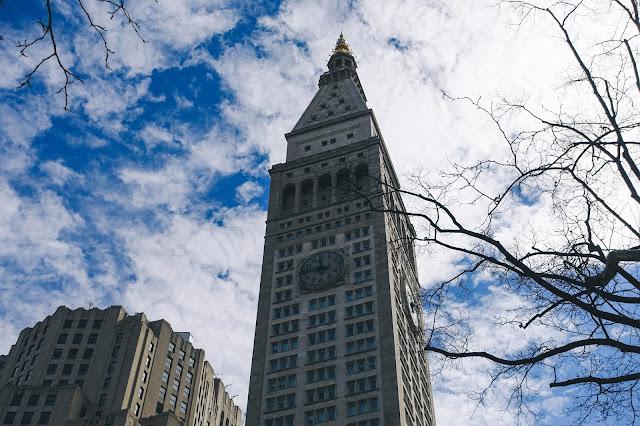 マディソン・スクエア・パーク(Madison Square Park)|メトロポリタン生命保険会社タワー(Metropolitan Life Insurance Company Tower)