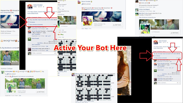 Bot Site Facebook