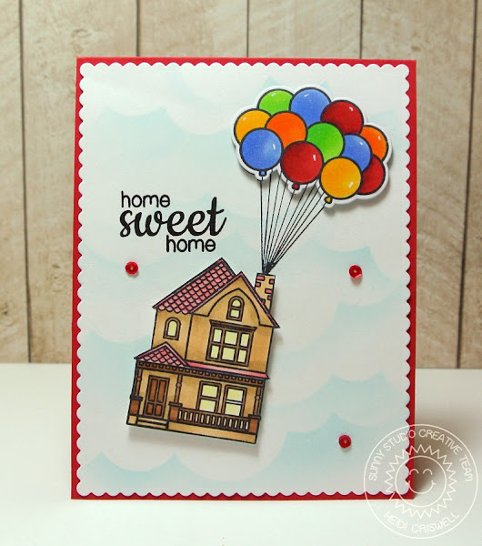 Happy Home at Sunny Studio Stamps