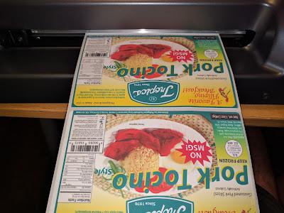 L301 Printed Labels