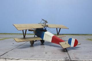 Nieuport 11 d'Eduard au 1/48.