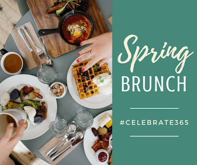 Spring Brunch - Perfect for Mother's Day #Celebrate365