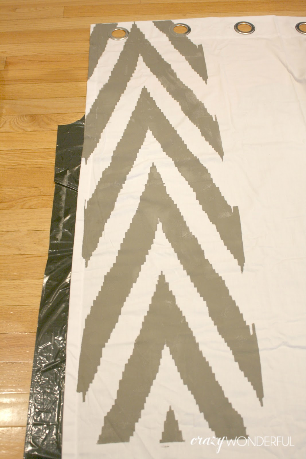 Diy Stenciled Curtains Tutorial Do It Yourself