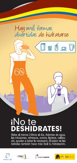 campaña no te deshidratates hay mil formas divertidas de hidratarse