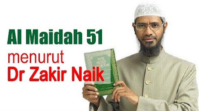 Tamparan Keras Buat Rizieq Shihab CS, Tak Disangka Begini Kata Dr. Zakir Naik Soal Al-Maidah 51, Masyaallah Ternyata Ahok Bukan.....