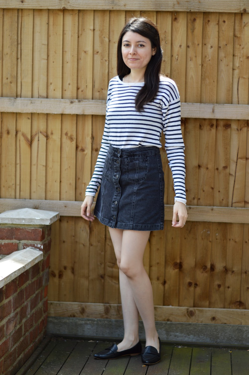 H&M Striped Top