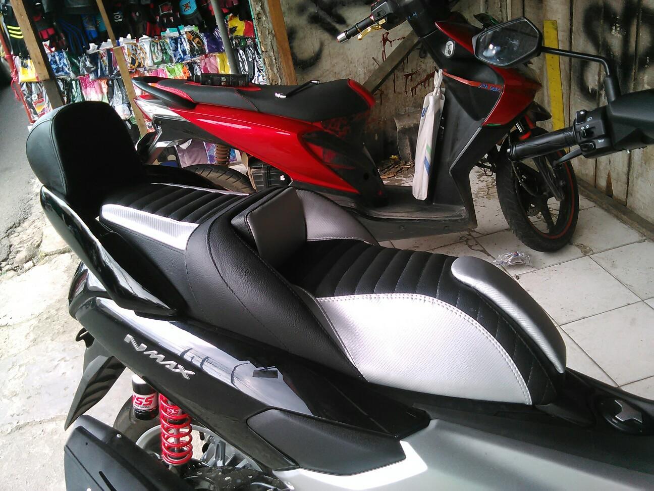 JOK MOTOR SPORT: Modifikasi Jok Ala Arie