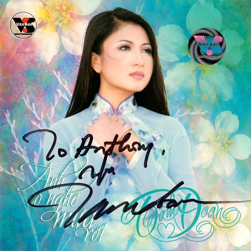 Vân Sơn CD - Tâm Đoan - Anh Có Nghe Mưa Rơi (NRG) + bìa scan mới