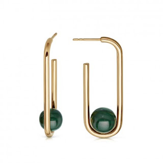 Astley Clarke - Malachite Marcel Hoop Earrings - Jewellery Blog - Jewellery Curated