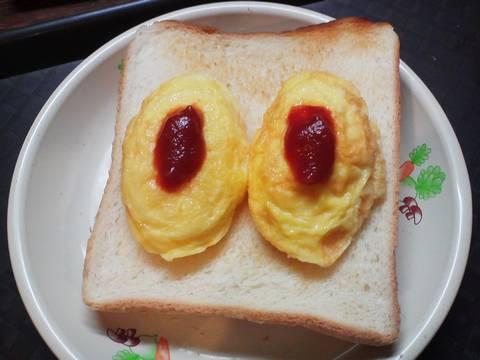 オムレツトースト まんが喫茶BIG
